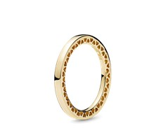 a5d2645cc ... gold and sterling silver Classic Hearts of PANDORA Ring - 156238 ...