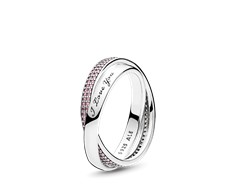 Sweet Promise Ring, Pink CZ - 196546PCZ